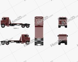 Peterbilt 350 Tractor Truck 1949