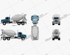 Peterbilt 365 Mixer Truck 2007