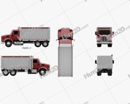 Peterbilt 567 Tipper Truck 2015