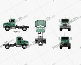Peterbilt 335 HE Tractor Truck 2008