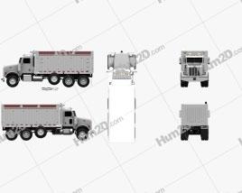 Peterbilt 367 Dump Truck 2007