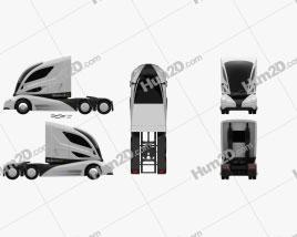 Peterbilt Walmart Advanced Vehicle Experience Truck 2015