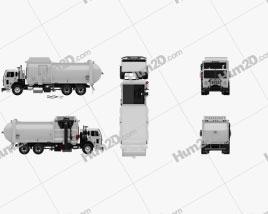 Peterbilt 520 Garbage Truck McNeilus 2016