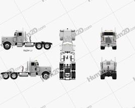 Peterbilt 359 Tractor Truck 2004