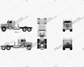 Peterbilt 378 Tractor Truck 2006