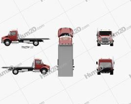 Peterbilt 537 Tow Truck 2021 clipart