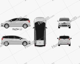Peugeot 5008 2010 clipart