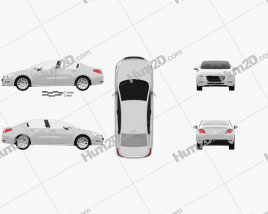 Peugeot 508 saloon 2011