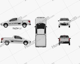 Peugeot Hoggar 2012 car clipart