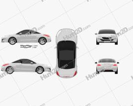 Peugeot RCZ coupe 2013