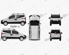 Peugeot Bipper Tepee 2011 clipart