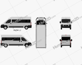 Peugeot Boxer Passenger Van 2007