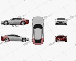 Peugeot Exalt 2014 car clipart