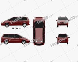 Peugeot 807 2008 clipart