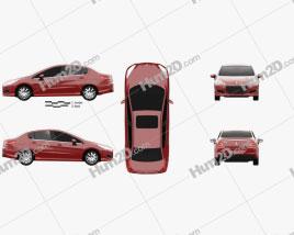 Peugeot 308 (CN) 2011 car clipart