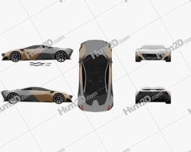 Peugeot Onyx 2012 car clipart