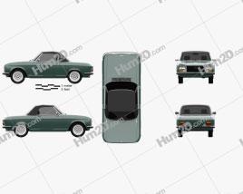 Peugeot 304 convertible 1970