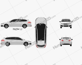 Peugeot 308 SW GT Line 2017