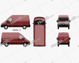 Peugeot Boxer Panel Van L2H2 2002