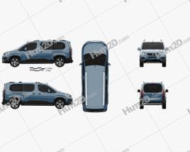 Peugeot Rifter Long 2018