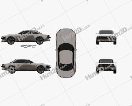 Peugeot e-Legend 2018 car clipart