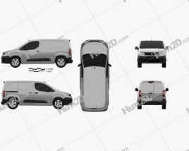 Peugeot Partner 2019 clipart