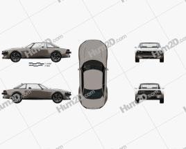 Peugeot e-Legend with HQ interior 2018 car clipart