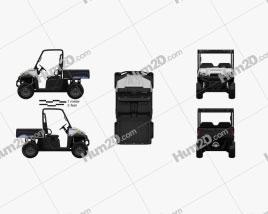 Polaris Ranger EV 2015 Clipart