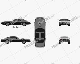 Pontiac Firebird Trans Am 1977 car clipart