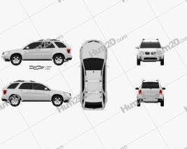 Pontiac Torrent 2006 car clipart