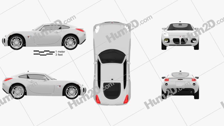 Pontiac Solstice Coupe 2009 car clipart