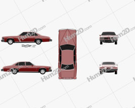 Pontiac Grand LeMans sedan 1976