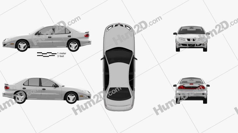 Pontiac Sunfire 2003 car clipart