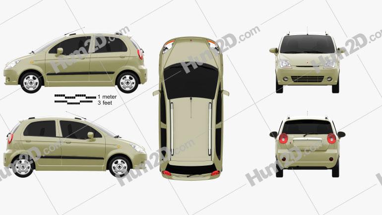 Pontiac Matiz G2 2006