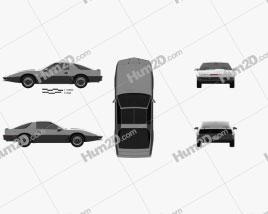 Pontiac Firebird KITT 1982 car clipart