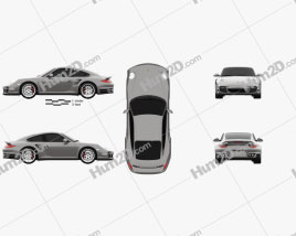 Porsche 911 Turbo Coupe 2011