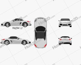 Porsche Boxster 981 Spyder 2016