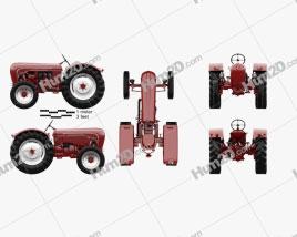 Porsche Diesel Tractor P 133 1956