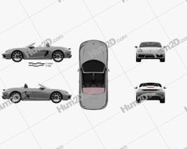 Porsche 718 Boxster 2016