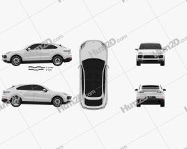Porsche Cayenne S coupe 2019