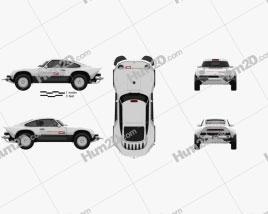 Porsche Singer All-terrain Competition Study 2021 car clipart