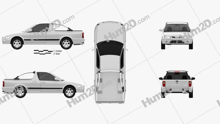 Proton Arena (Jumbuck) 2010 car clipart