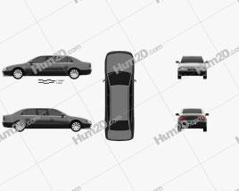 Proton Perdana Grand Limousine 2004