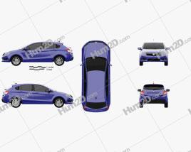 Proton Suprima S 2013 car clipart