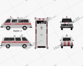 RAF 2203 Latvija Ambulance 1975
