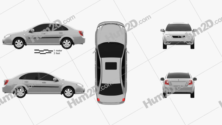 Ravon Gentra 2015 car clipart