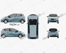 Ravon R2 2016 car clipart