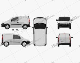 Renault Kangoo Compact 2011 clipart