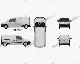 Renault Kangoo Maxi 2011 clipart