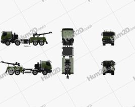 Renault Kerax Military Crane 2011